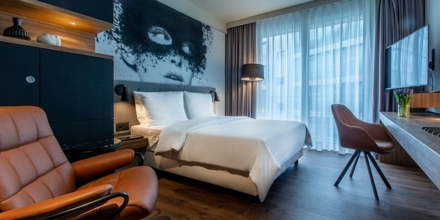 Neues Design: Die Zimmer im Radisson Blu Köln sind modernisiert worden
