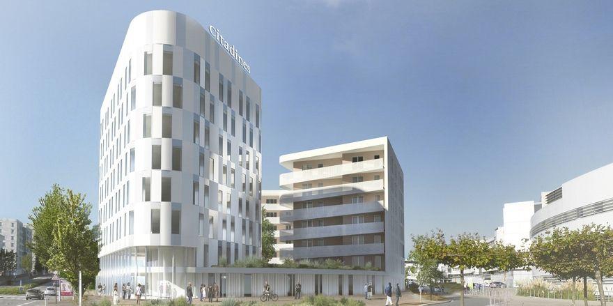 Ebenfalls in Planung: Das Citadines Franchise Nantes