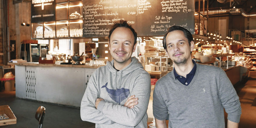Stehen hinter dem Konzept: Thomas Sampl (links) und Frank Chemnitz