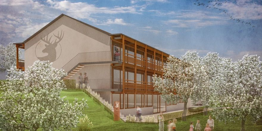 So soll's aussehen: Das Boardinghouse Bodensee (alle Fotos Renderings)