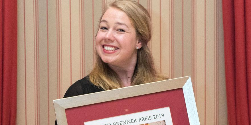 Fröhliche Gewinnerin: Kerstin Reiner