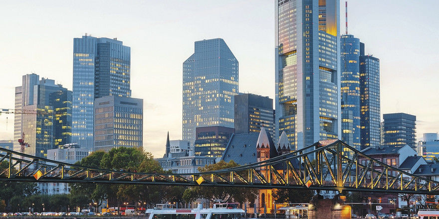 Skyline des Bankenviertels: Der Brexit ist für Frankfurt ein wichtiges Thema.