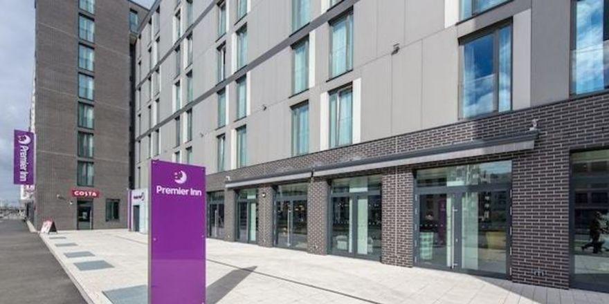Gehört zum Portfolio: Das Premier Inn in Frankfurt/M.