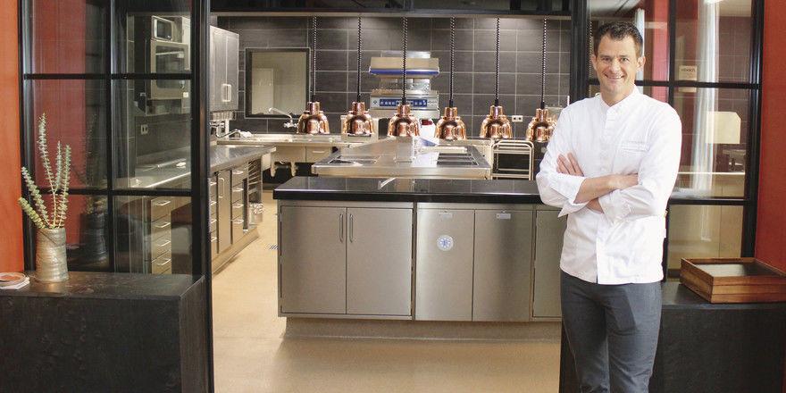 Der Aufsteiger im Westen: Christian Eckhardt vom Restaurant Purs in Andernach hat nach der Eröffnung aus dem Stand zwei Sterne geholt