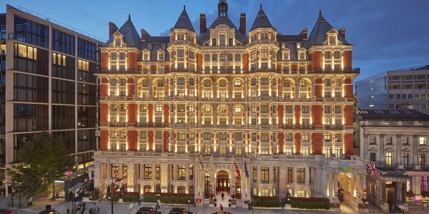 Verspricht Luxus pur: Das Mandarin Oriental Hyde Park in London
