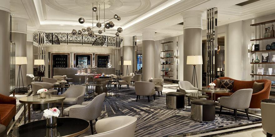 Nach dem Berlin der 20er Jahre designt: Die Lounge im The Ritz-Carlton, Berlin
