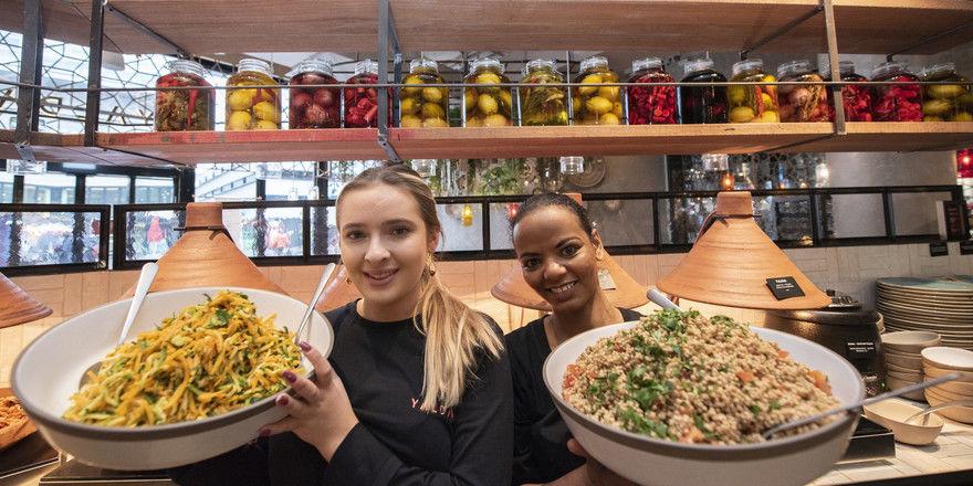 Preisträger: Das Schweizer Unternehmen Two Spice, unter anderem mit dem Orient-Küche-Konzept Yalda