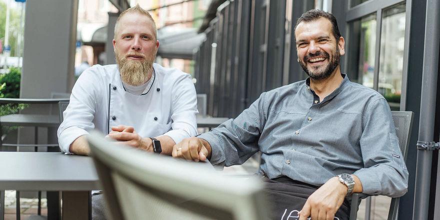 Starkes Duo: Küchenchef Sven Frambach (links) und Restaurant Manager Javier Villacampa