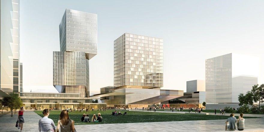 """In Planung: Im neuen Stadtteil Reininghaus im Westen von Graz wird es im """"Quartier Zwei"""" ein neues Harry's Home Hotel gebe"""