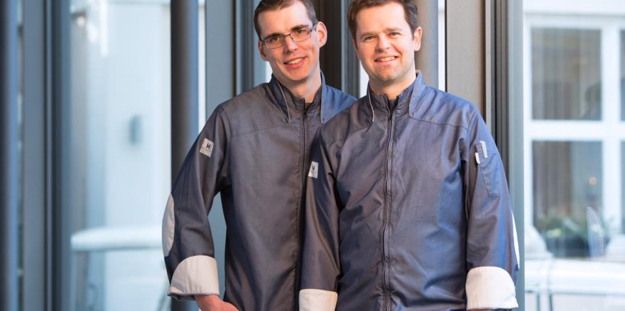 Starkes Duo: (von links) Jens Fischer und Philipp Helzle