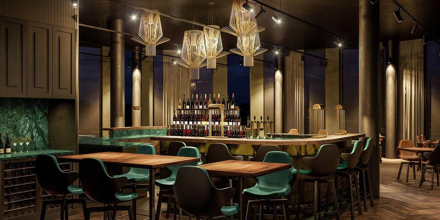 So soll es aussehen: Das neue Sky-Restaurant Überland in Braunschweig