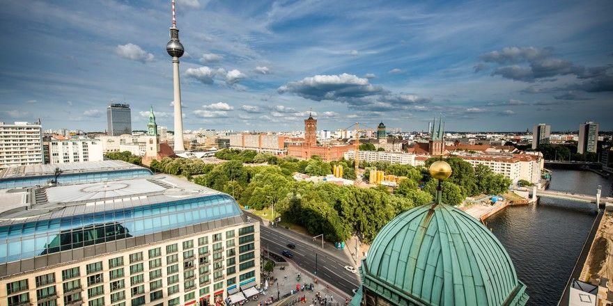 Höchstes RevPar-Wachstum: Berlin konnte im Vergleich mit den anderen der Top-6-Hotelstandorte 2018 am meisten zulegen