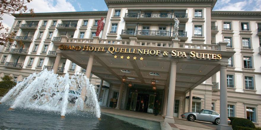 Grand Hotel Quellenhof: Knapp 40 Mio. Euro zum 150-jährigen Jubiläum