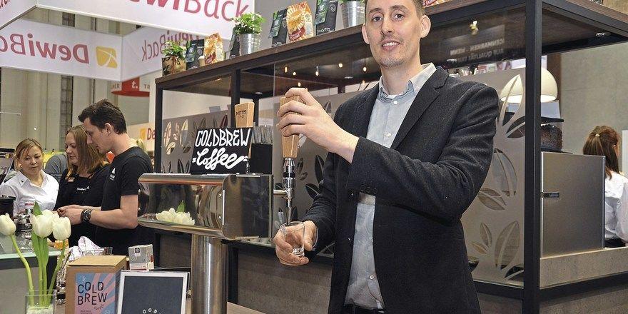 Kalt, cremig und trendy: Nitro-Kaffee, hier gezapft von Florian Häupl von Good Spirits.