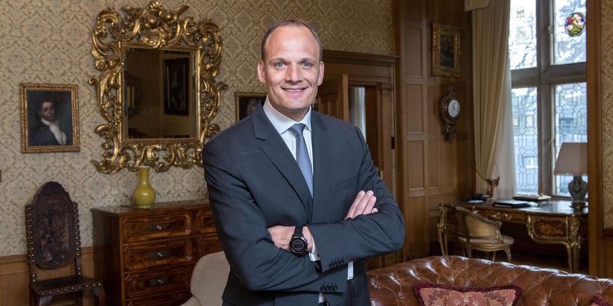 Sandro Bohrmann: Neu bei der Gruppe Prinz von Hessen