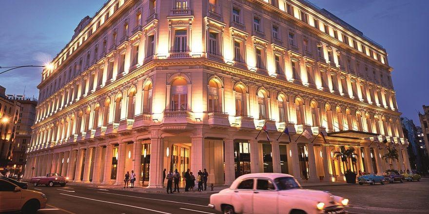 Das Gran Hotel Kempinski Manzana La Habana in der Altstadt von Havanna ist das erste Kempinski auf Kuba
