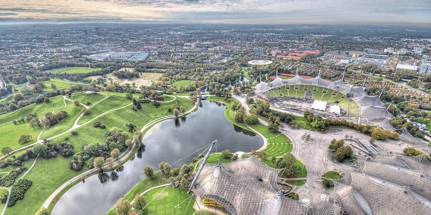 Der Münchner Olympiapark: In seiner Nähe sind vor Kurzem zwei Serviced-Apartment-Konzepte an den Start gegangen