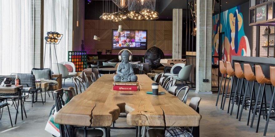 Multifunktional: Der Living Room im Moxy