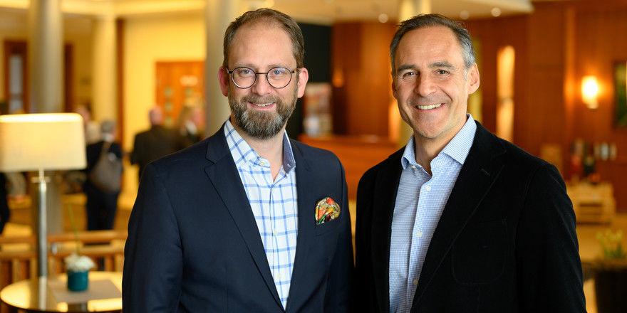 Sind sich einig: Alexander Winter (links) und Rupert Simoner