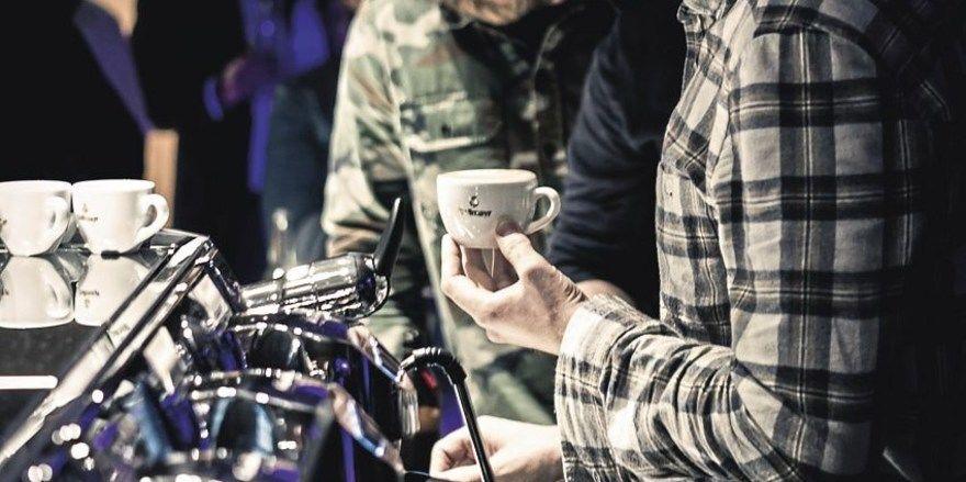Leidenschaft für Kaffee: Szene beim Dallmayr Barista Jam von 2016.