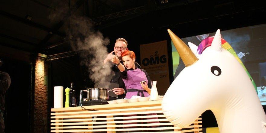 Prominenter Gast bei Vioma: Die Schweizer-Spitzenköchin Meta Hiltebrand