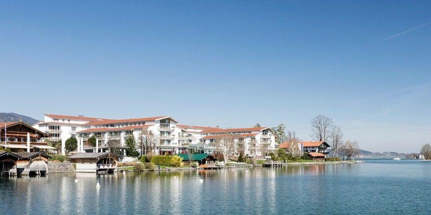 Gehört zur Althoff Collection: Das Seehotel Überfahrt am Tegernsee