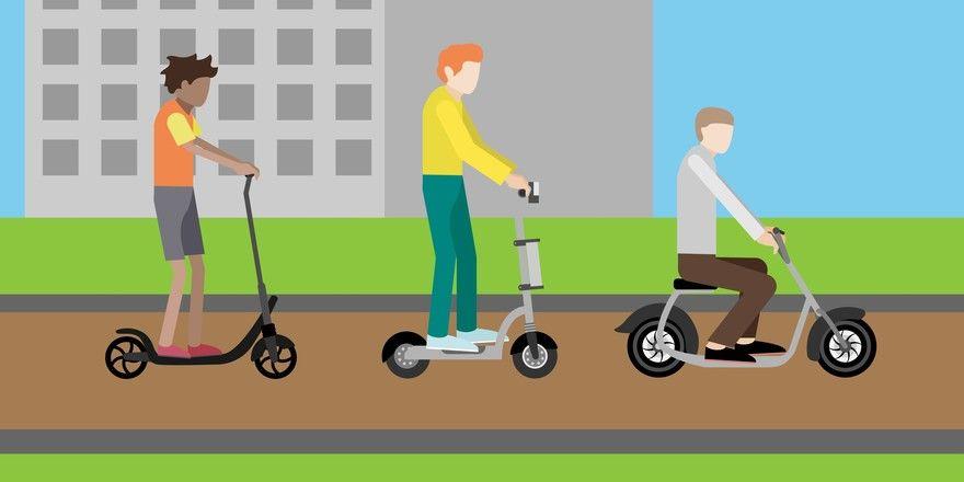 Mobil ohne Krafteinsatz: Solche Elektrogefährte gehören wohl bald schon zum Stadtbild.