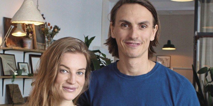 Die beiden Gründer: Jasmin Martin und David J. Suchy