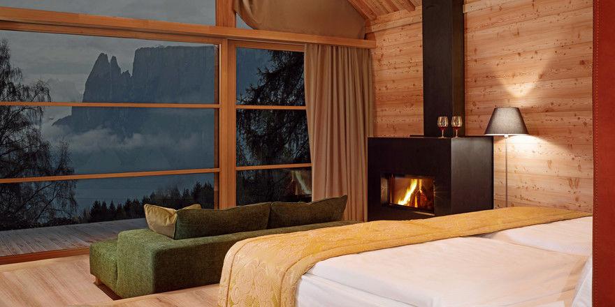 Warme Farben: So präsentieren sich die Zimmer und Apartments der Adler Lodge