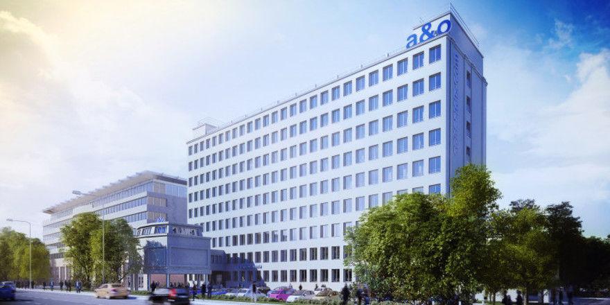Neue Betten für Warschau: So soll das neue A&O in der polnischen Hauptstadt aussehen