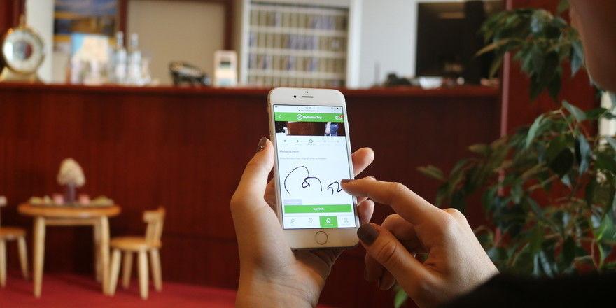 So könnte es digital aussehen: Das Greenline Hotel Haffhus und der Tech-Dienstleister Betterspace haben bereits eine Lösung vorgestellt