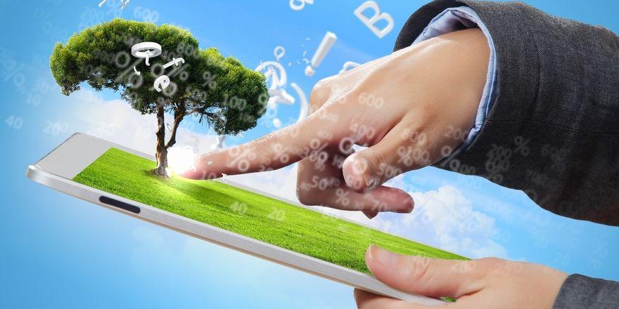 Papierloser Service: Mit modernen digitalen Tools lassen sich Emissionen reduzieren
