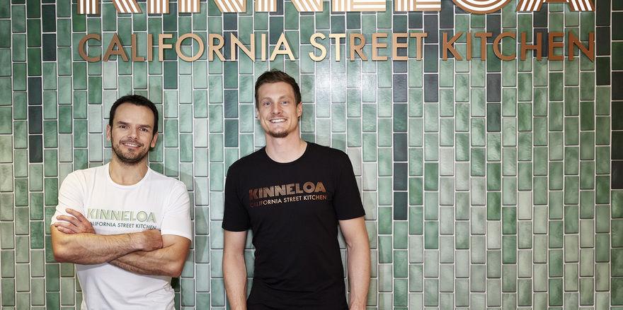 Ergänzen sich: Steffen Henssler (links) und Marcell Jansen