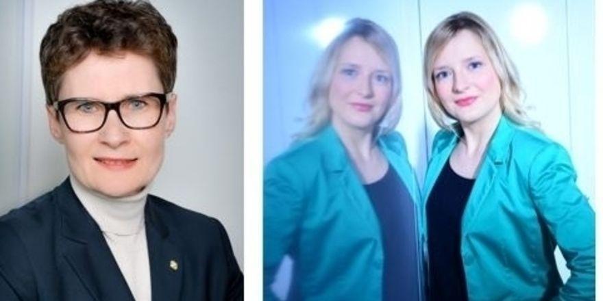Frauenpower: Monika Schnepf (links) und Lisa Edelmann