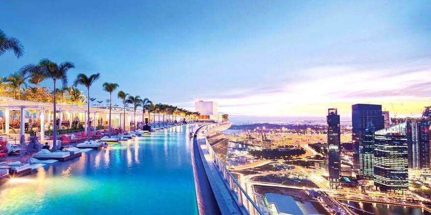 Spektakulär: Das Marina Bay Sands gehört zu den meistfotografierten Hotels der Welt