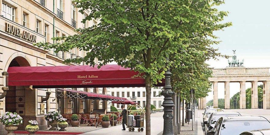 Neues Domizil. Das Hotel Adlon Kempinski in Berlin