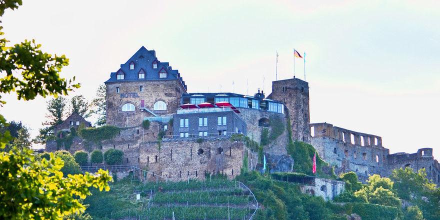 Zankapfel: Das Romantik-Hotel Schloss Rheinfels in St. Goar
