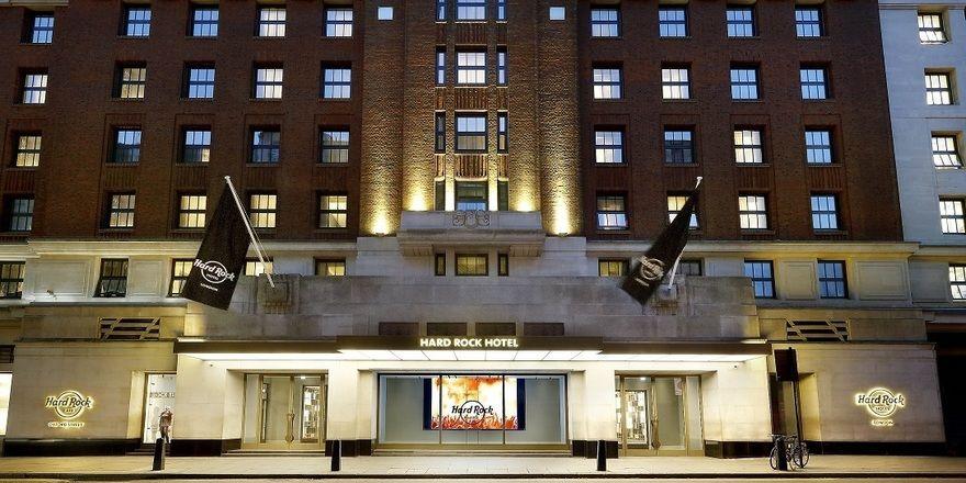 So sieht es aus: Das neue Hard Rock Hotel London