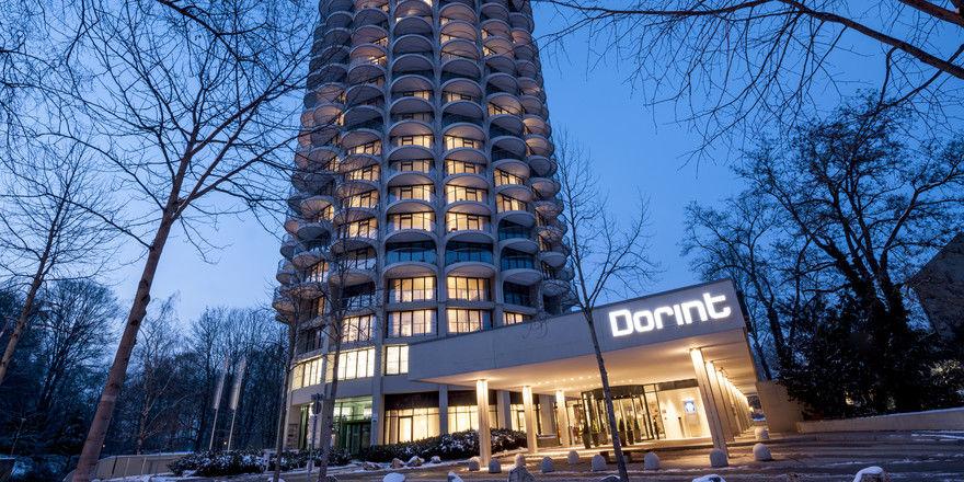 Platz für 184 Zimmer: Das Dorint an der Kongresshalle Augsburg