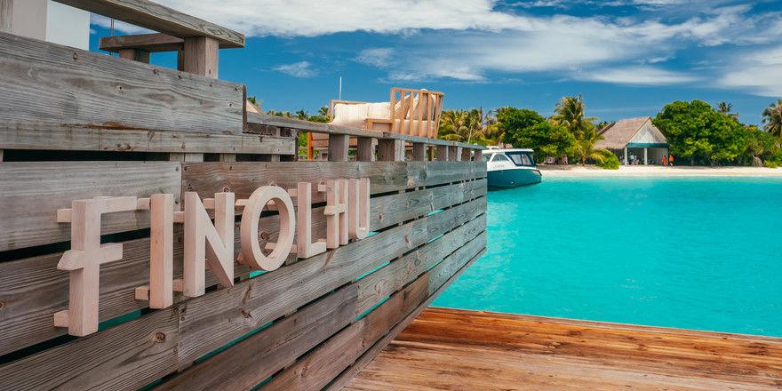 Neu bei Seaside: Das Finolhu Resort auf den Malediven