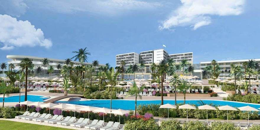 Hier stehen Veränderungen an: Das derzeitige Hotel Pical in Porec wird vergrößert und enorm aufgewertet