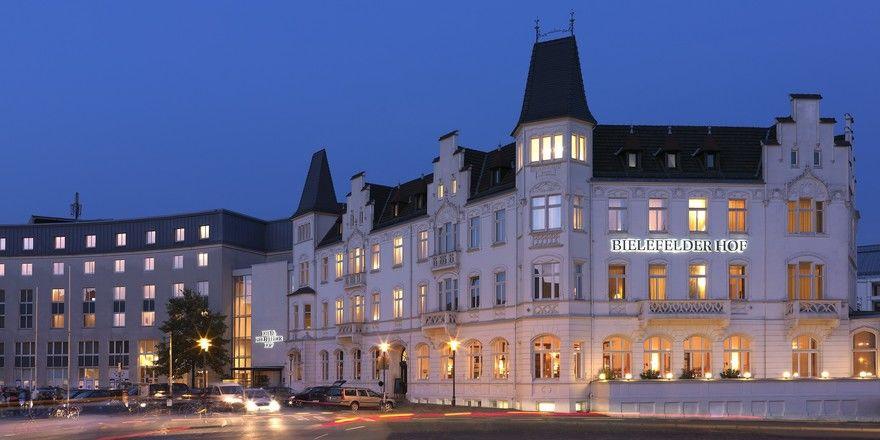 Nun unter französischer Flagge: Der Bielefelder Hof in Bielefeld gehört nun zur LFPI