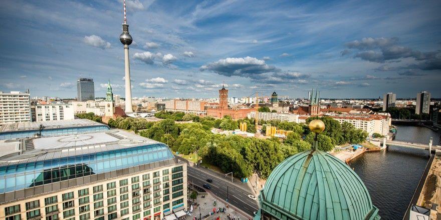 Begehrte Destination: Nach Berlin kommen viele Touristen aus In- und Ausland