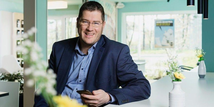 Sieht B&B auf der Höhe der Zeit: Geschäftsführer Max C. Luscher