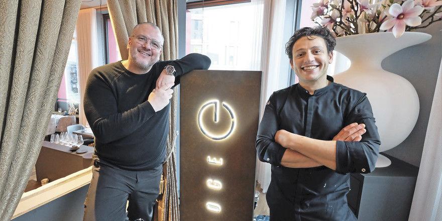 Kurze Zusammenarbeit: (von links) René Richter und Ben Benasr, der nun Geschäftsführer wird.