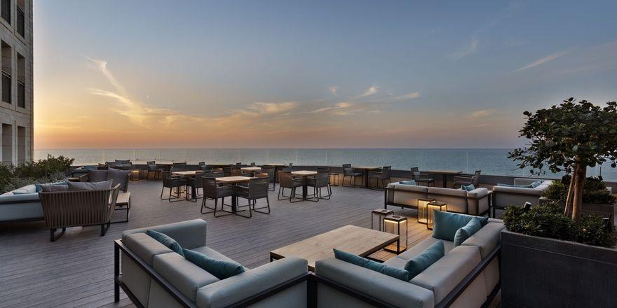 Schicke Anlage am Mittelmeer: The Setai in Tel Aviv