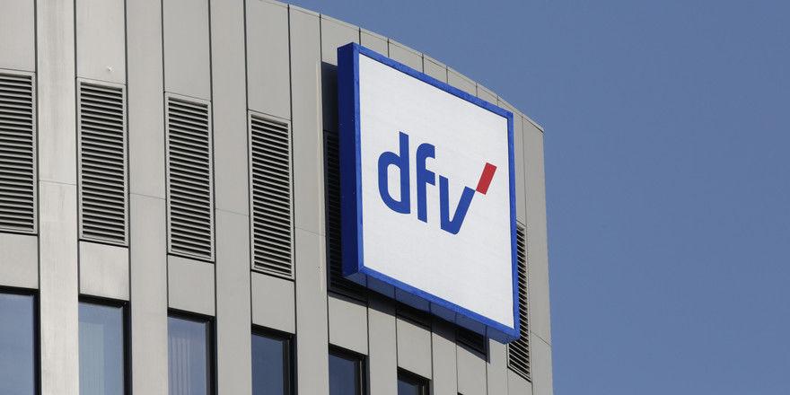 Der Hauptsitz der dfv Mediengruppe in Frankfurt/M.
