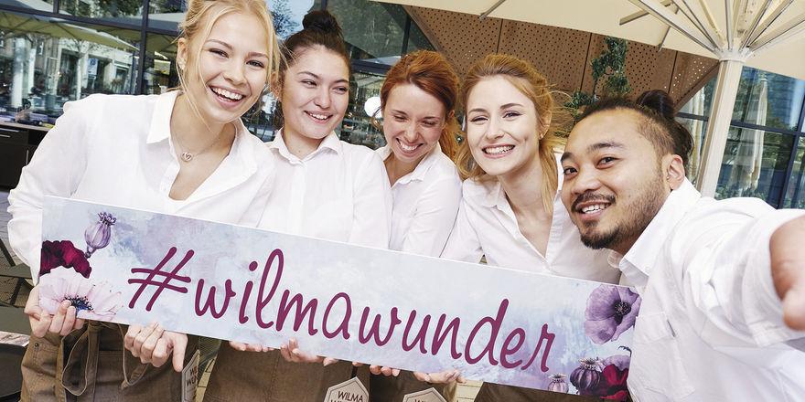 Gut gelaunt: Die Wilma-Wunder-Crew