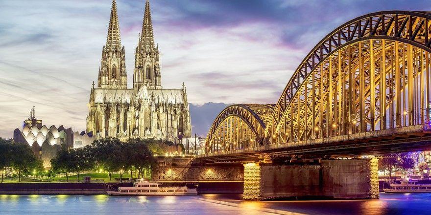 Profitiert von starken Messen: In die Stadt Köln dürften dieses Jahr wieder mehr Besucher stürmen
