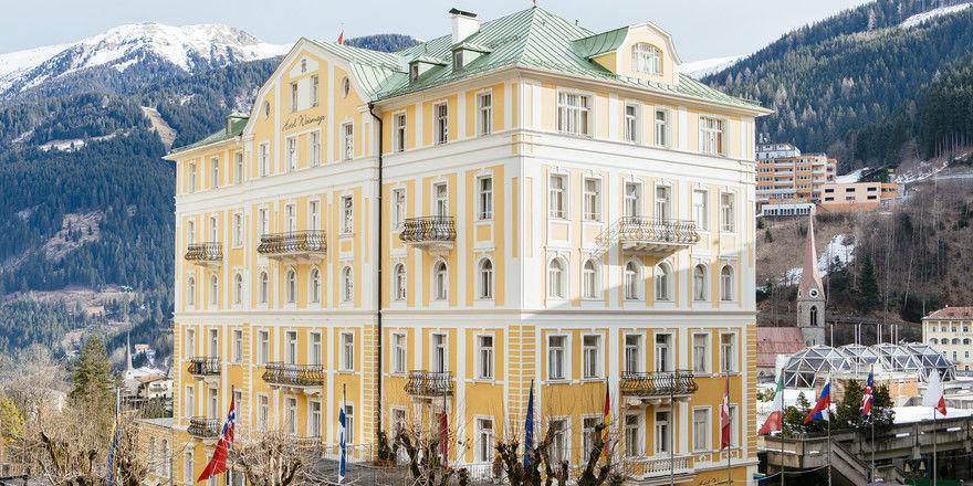 Haus mit Tradition: Vor mehr als 130 Jahren wurde das künftige Selina Bad Gastein als Hotel eröffnet